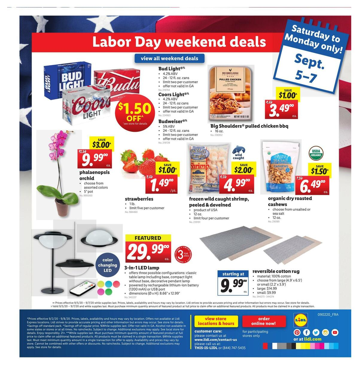 LIDL Weekly Ad from September 2
