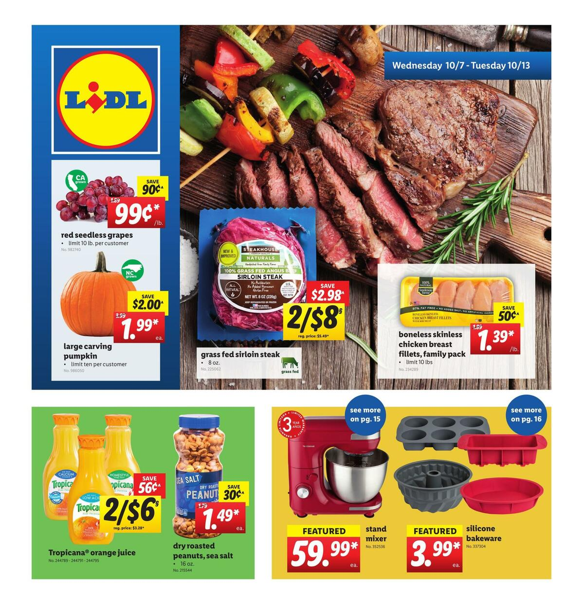 LIDL Weekly Ad from October 7