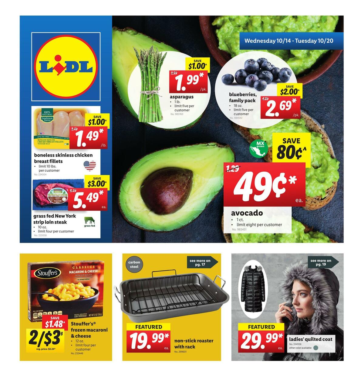 LIDL Weekly Ad from October 14