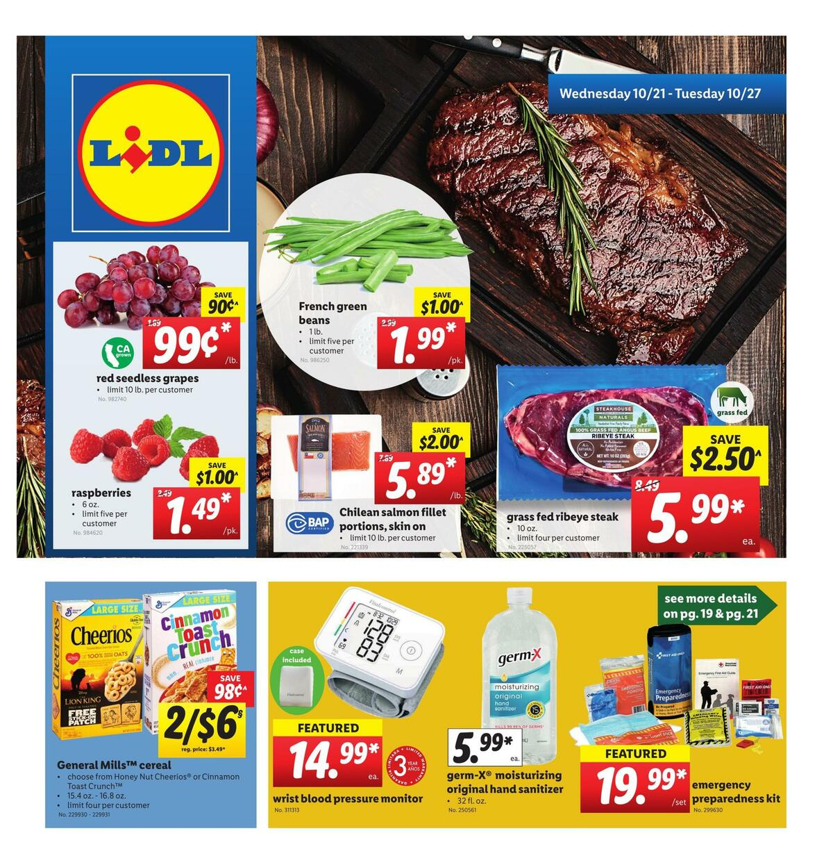 LIDL Weekly Ad from October 21