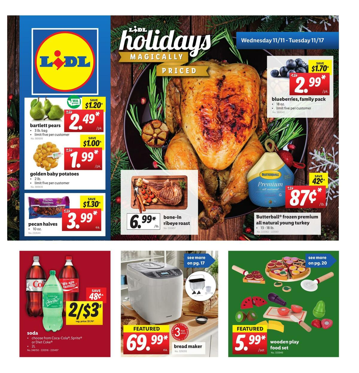 LIDL Weekly Ad from November 11