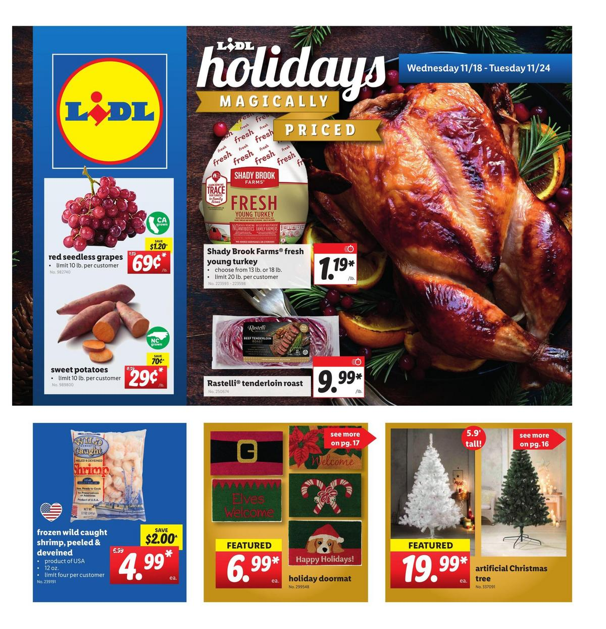 LIDL Weekly Ad from November 18