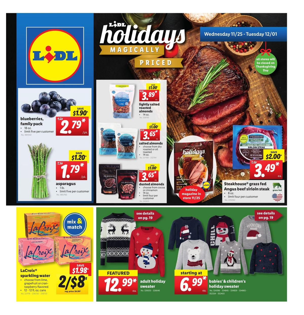 LIDL Weekly Ad from November 25