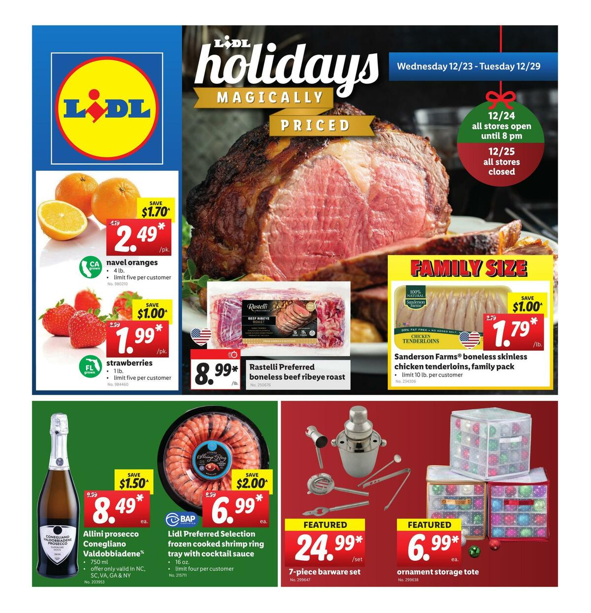 LIDL Weekly Ad from December 23