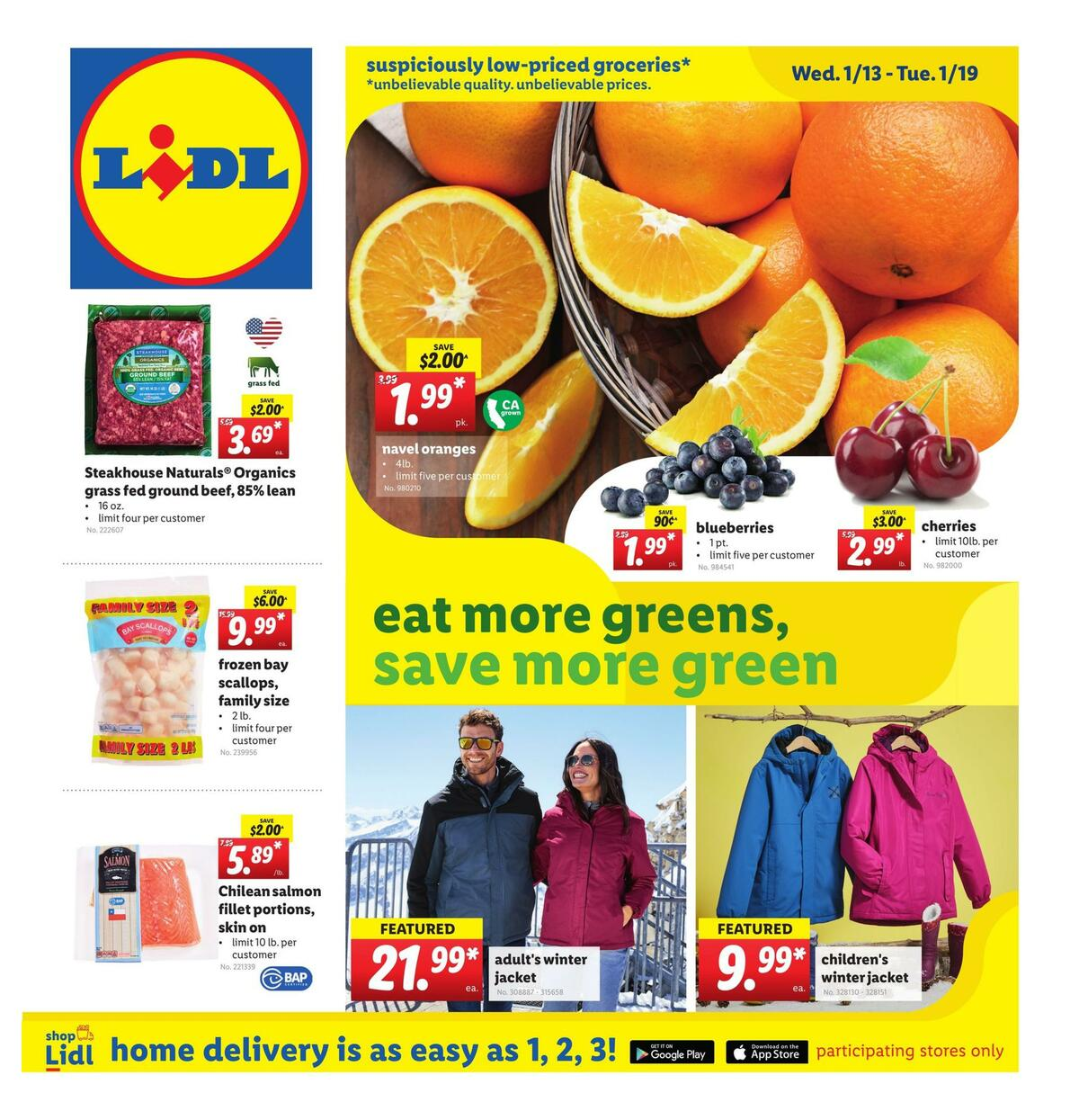 LIDL Weekly Ad from January 13