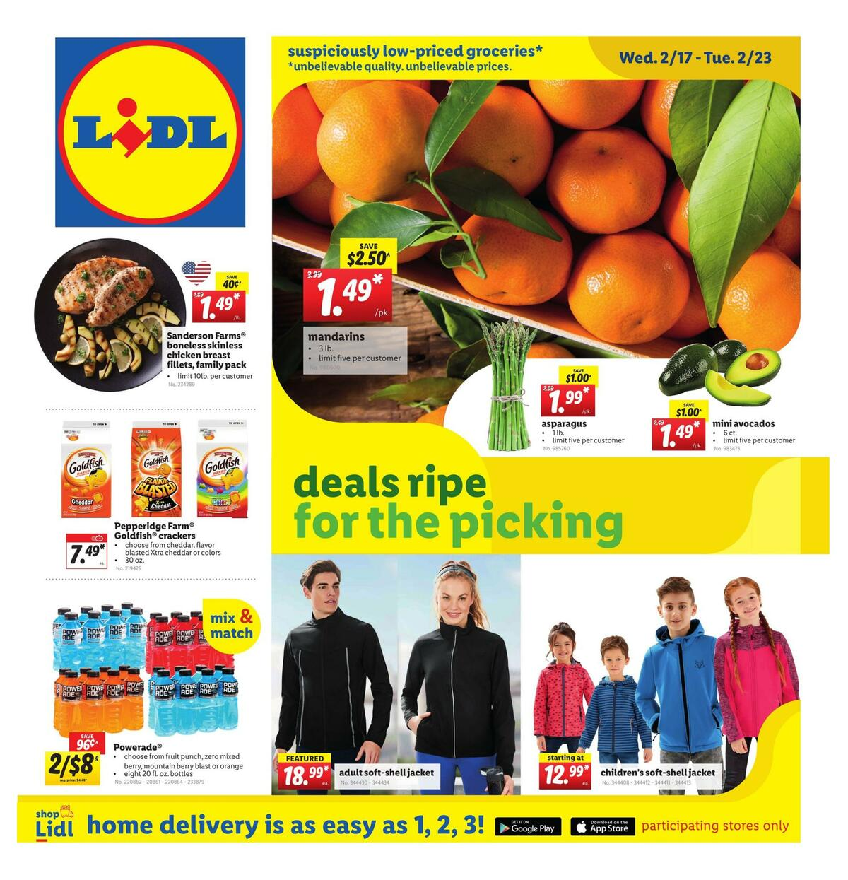 LIDL Weekly Ad from February 17