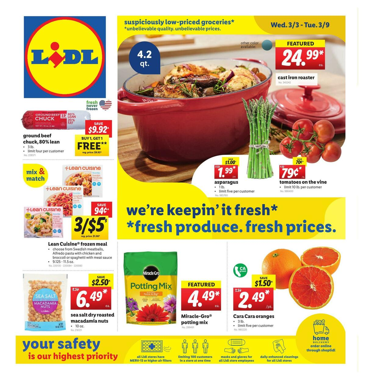 LIDL Weekly Ad from March 3