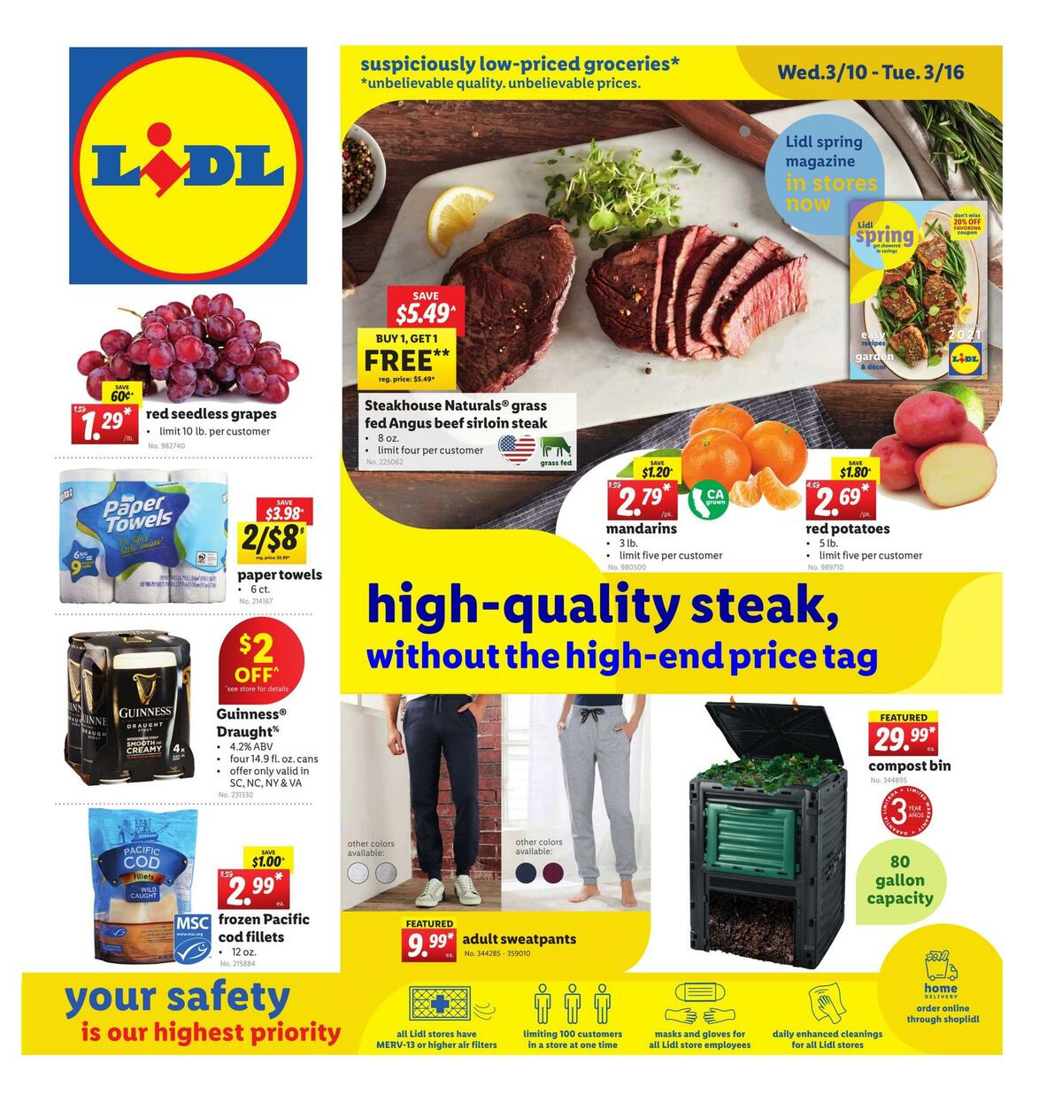 LIDL Weekly Ad from March 10