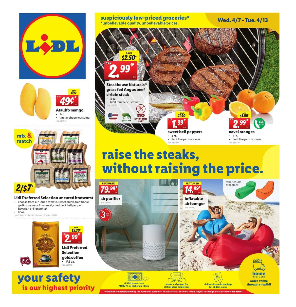 LIDL Weekly Ad from April 7
