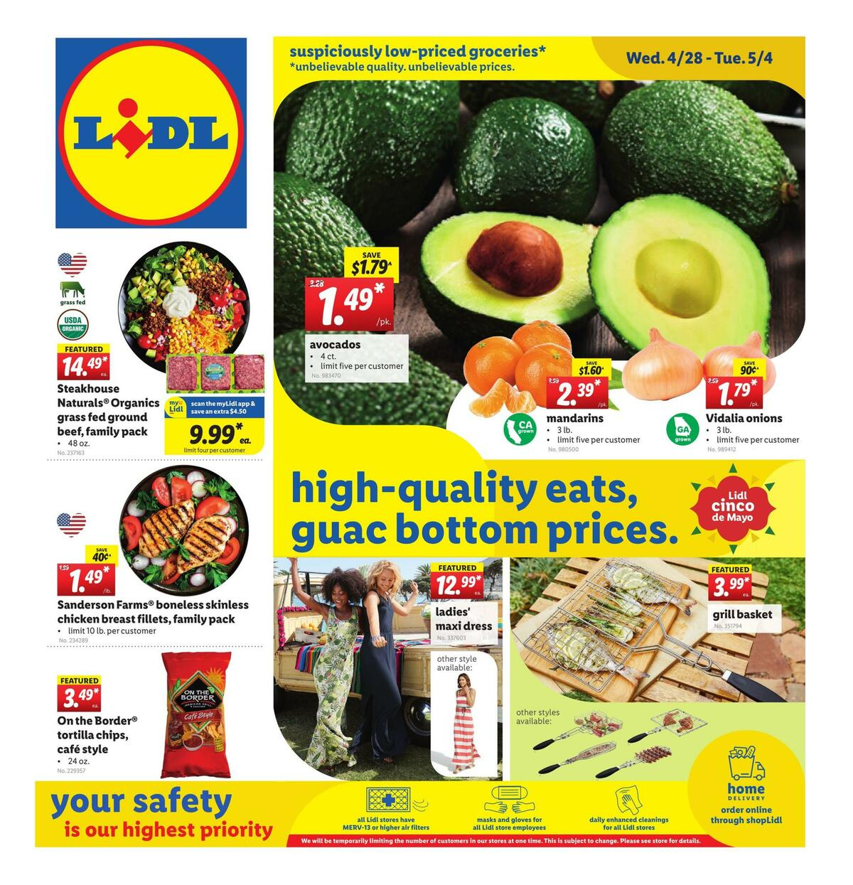 LIDL Weekly Ad from April 28