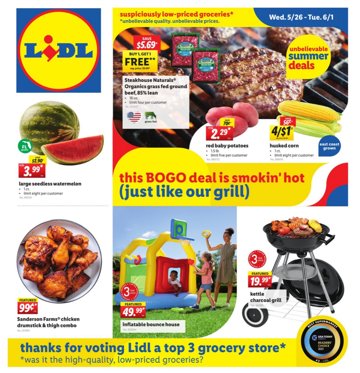 LIDL Weekly Ad from May 26