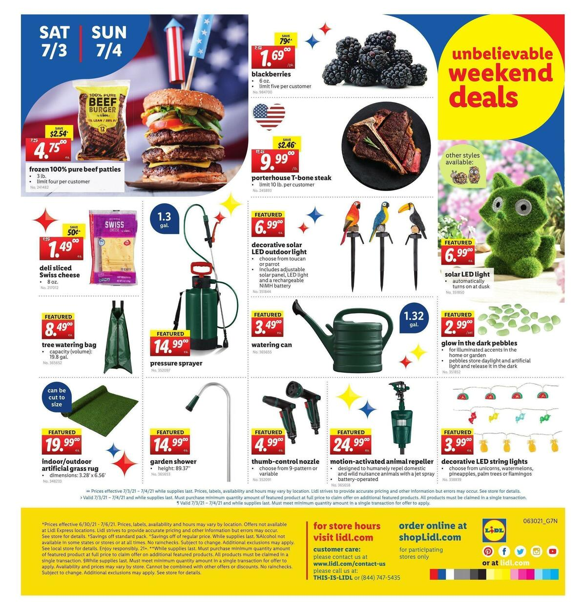 LIDL Weekly Ad from June 30
