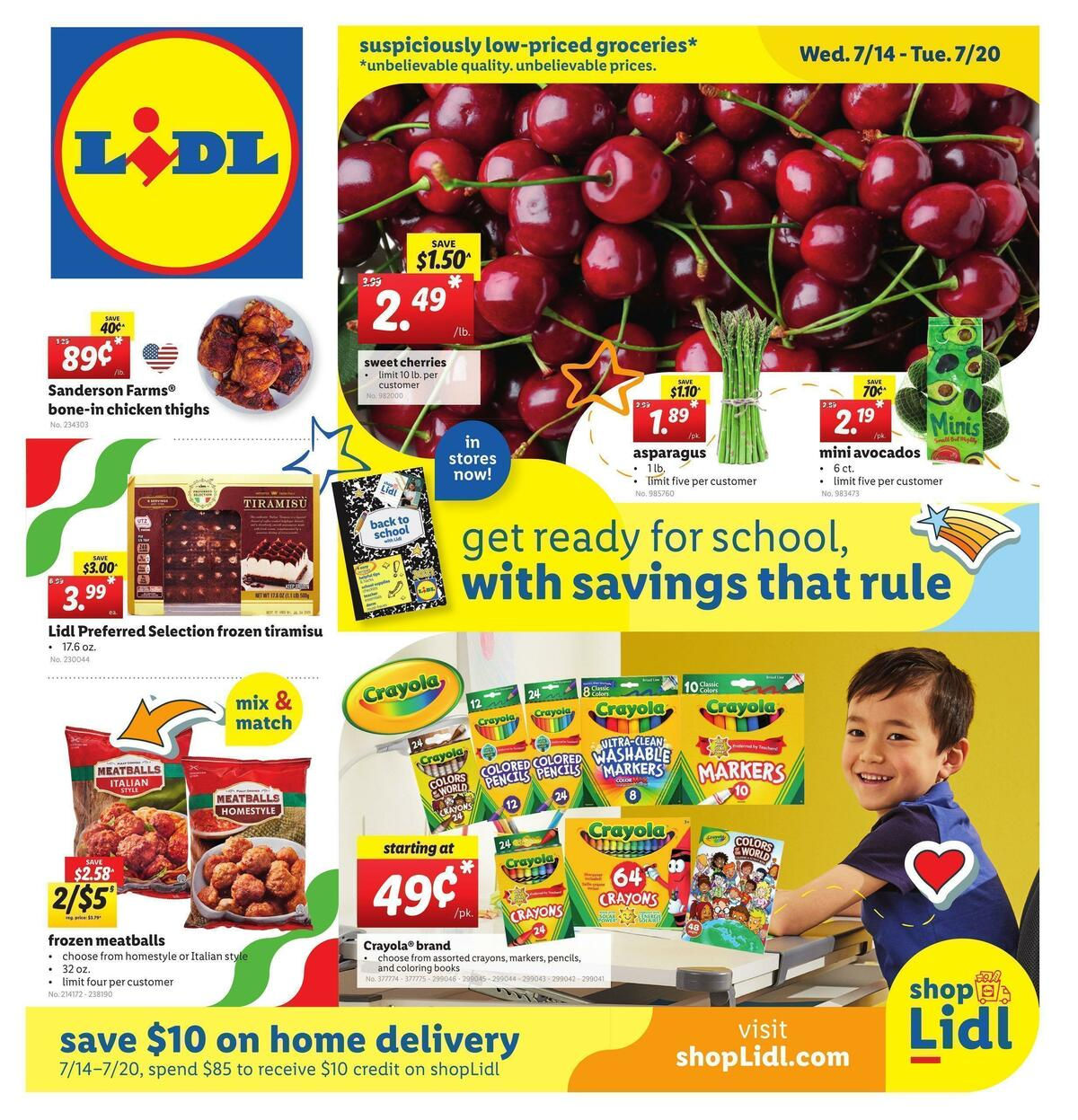 LIDL Weekly Ad from July 14