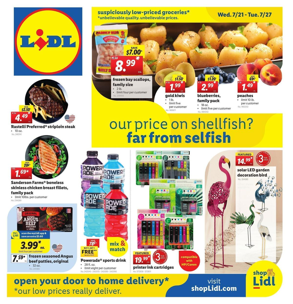 LIDL Weekly Ad from July 21