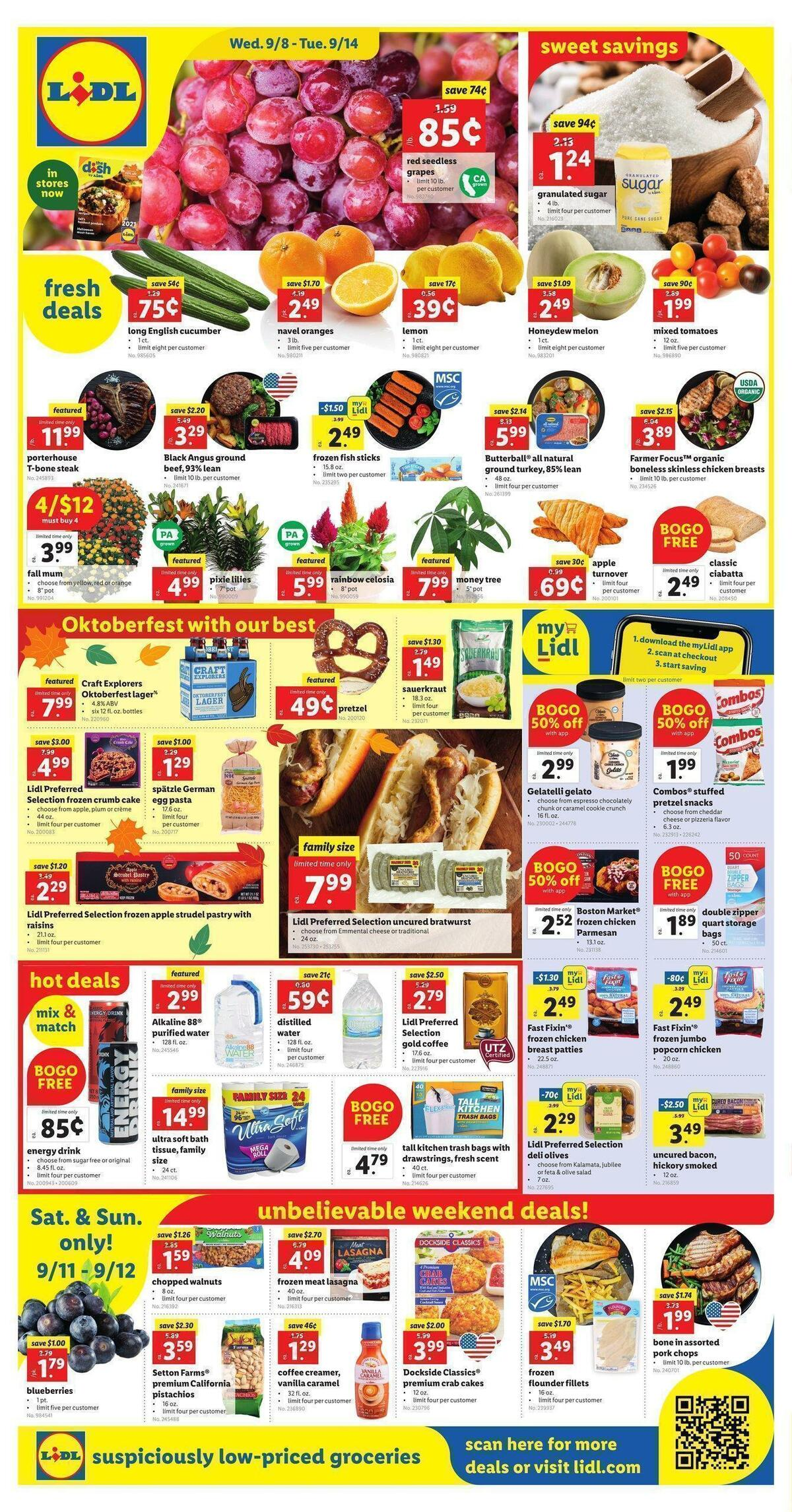 LIDL Weekly Ad from September 8