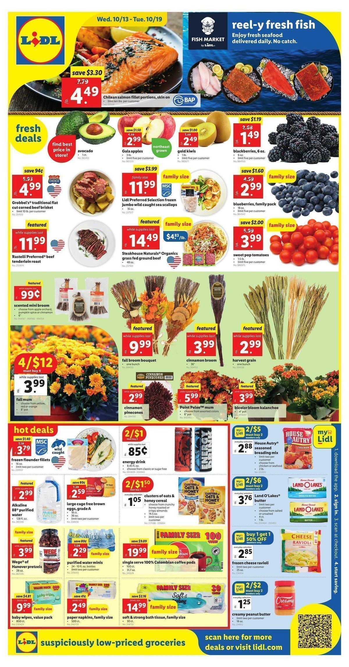 LIDL Weekly Ad from October 13