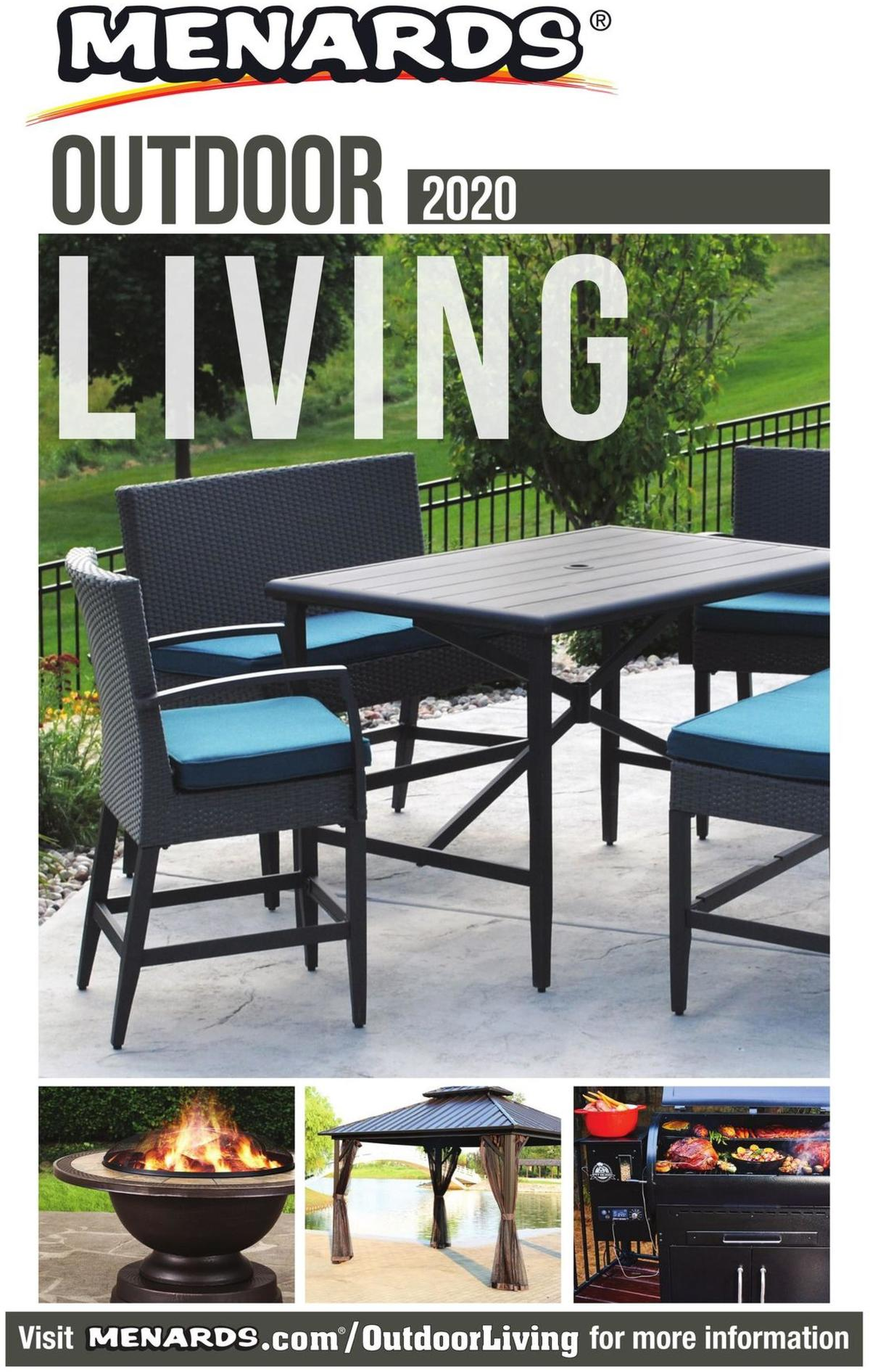 Menards Outdoor Living Catalog Weekly Ad from February 20
