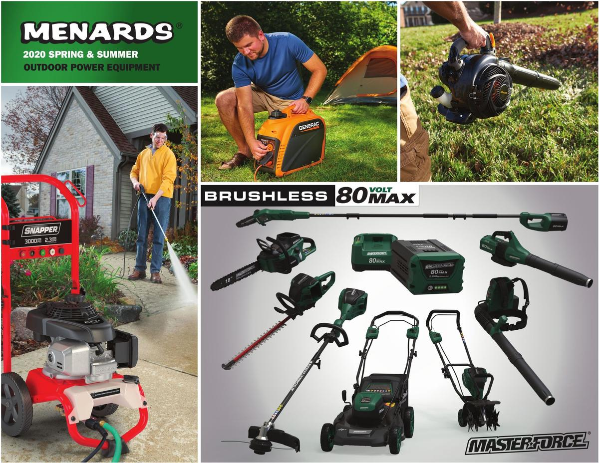 Menards OUTDOOR POWER EQUIPMENT Weekly Ad from March 2