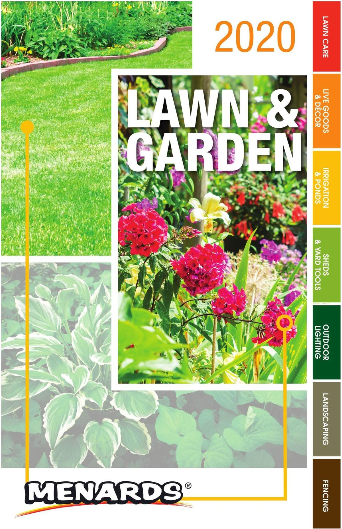 Menards Garden Center Catalog Weekly Ad from March 22