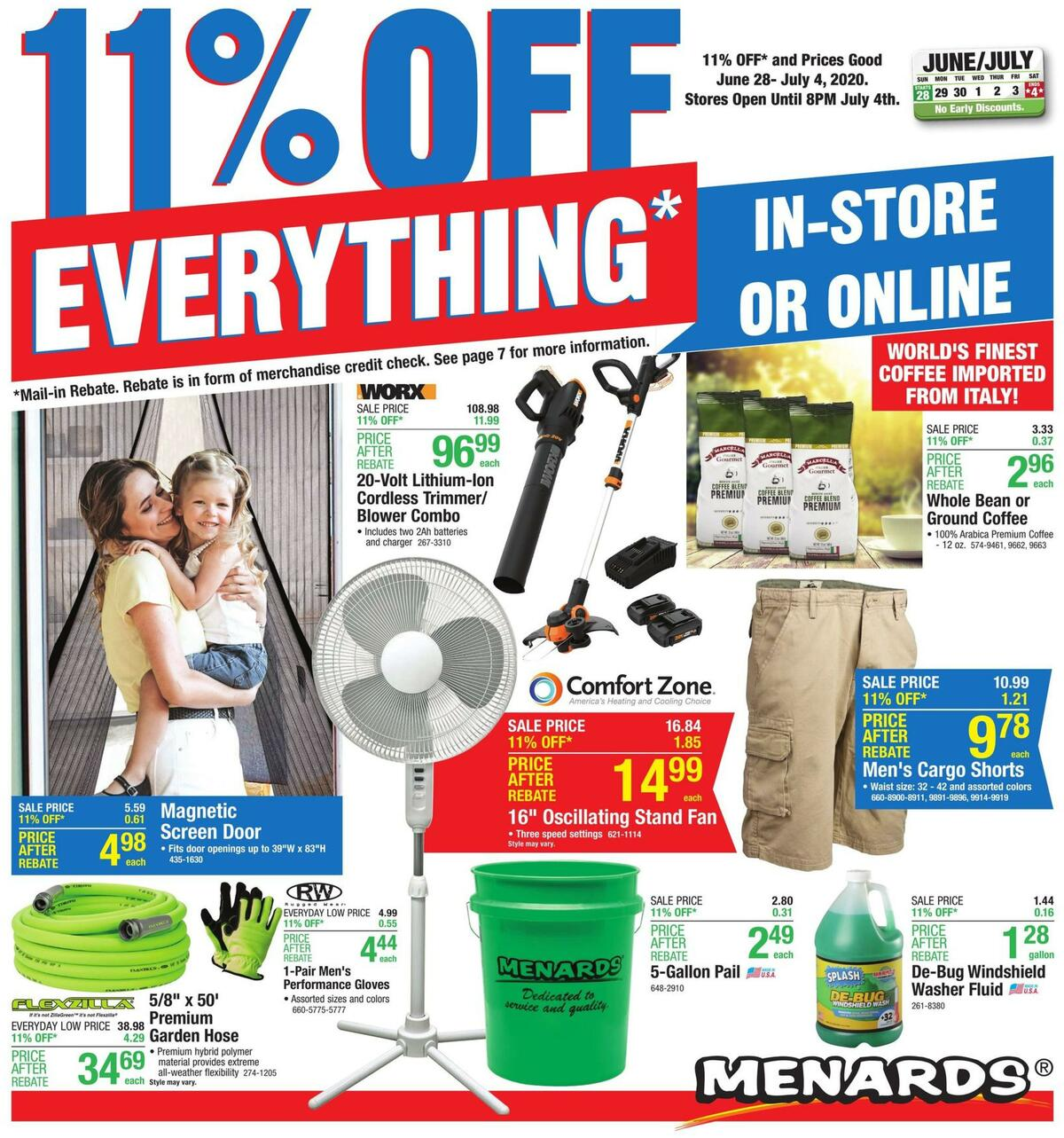 Menards Weekly Ad from June 28