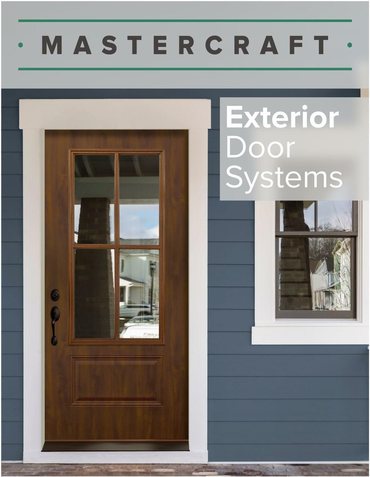 Menards MASTERCRAFT Exterior Doors Weekly Ad from June 14