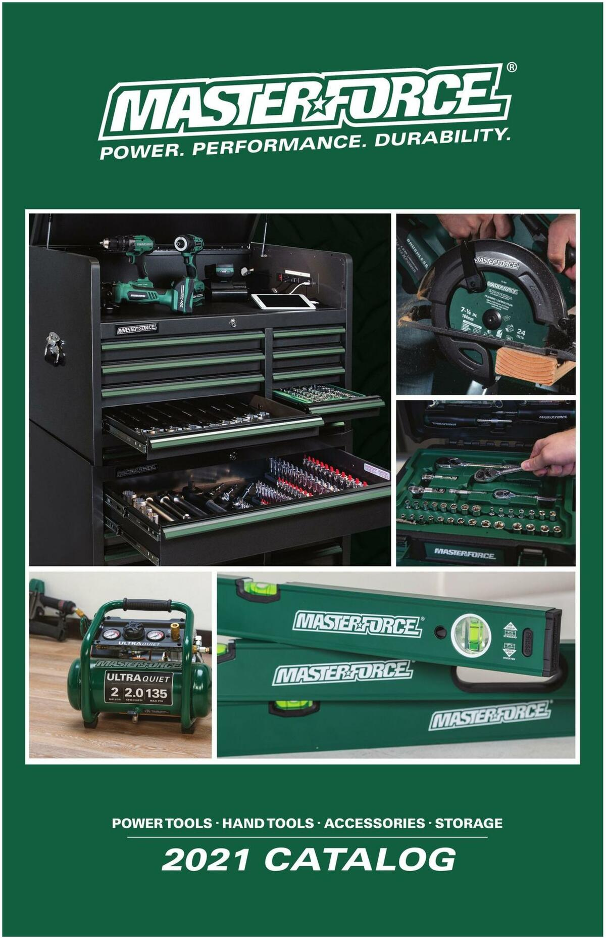 Menards Masterforce Tools Weekly Ad from November 22