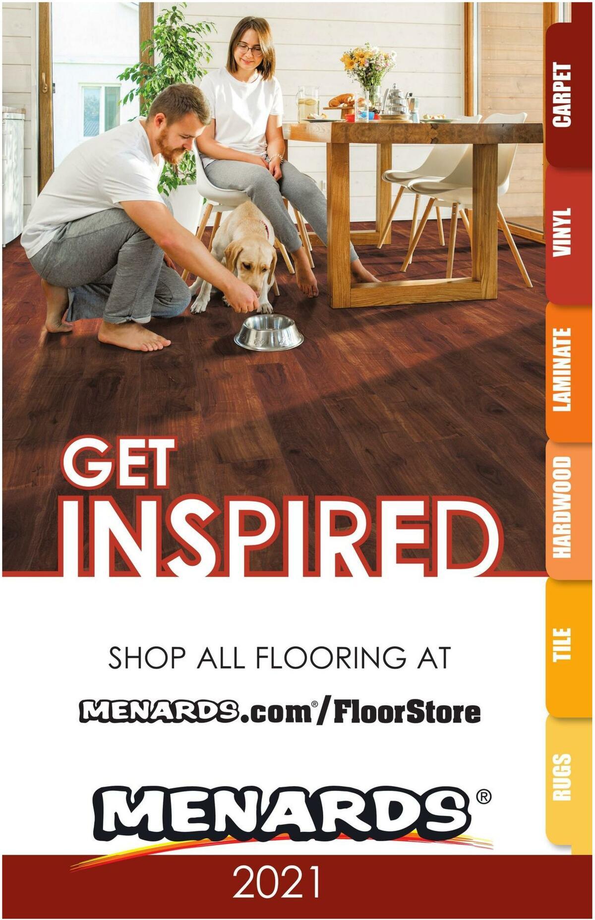 Menards Flooring Catalog 2021 Weekly Ad from December 28