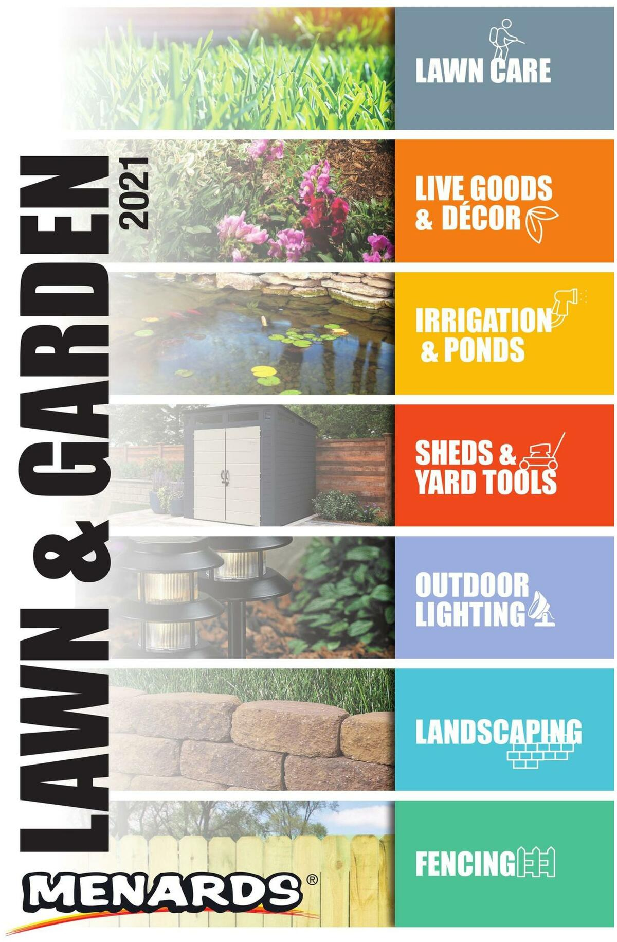 Menards Lawn & Garden Catalog Weekly Ad from March 22