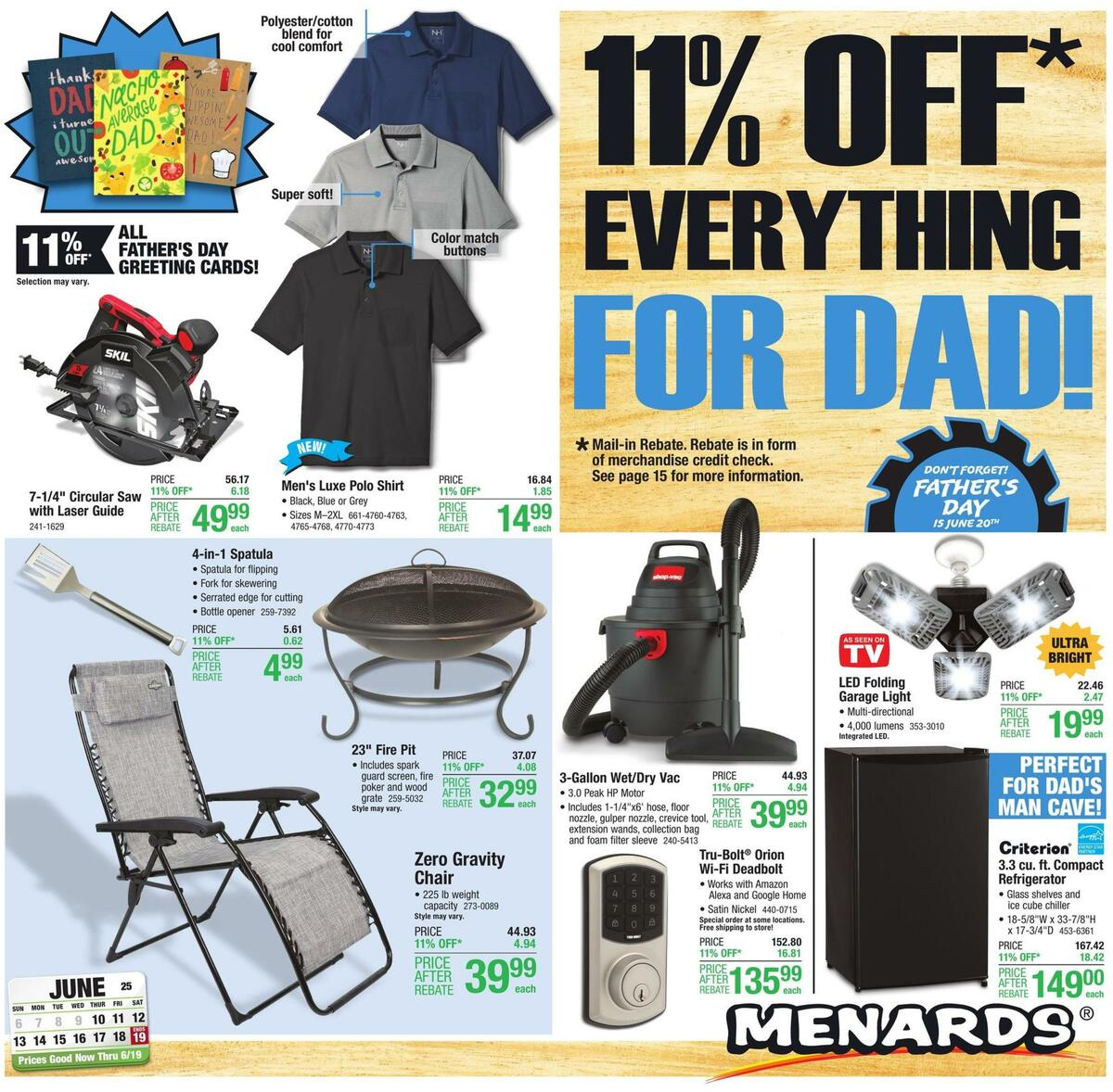 Menards Weekly Ad from June 10