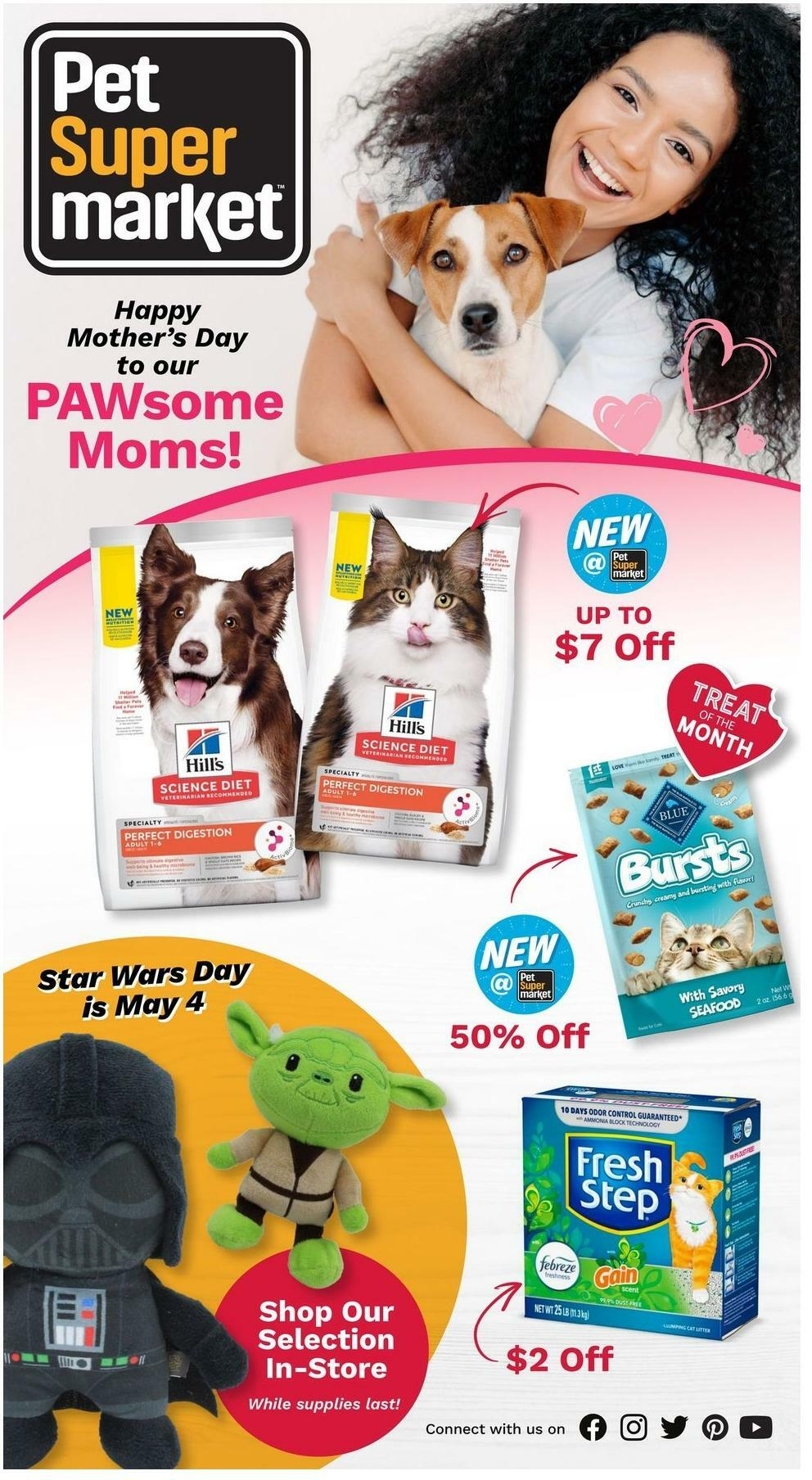 Pet Supermarket Weekly Ad from May 3