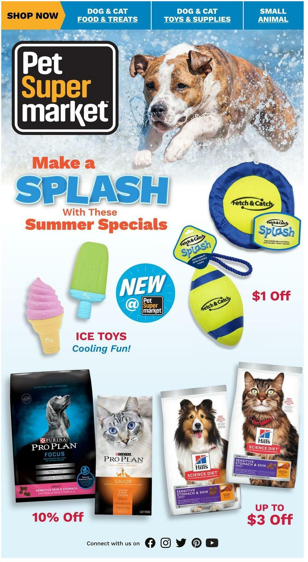 Pet Supermarket Weekly Ad from June 1
