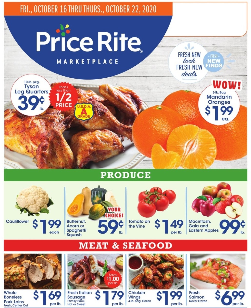 Price Rite Weekly Ad from October 16