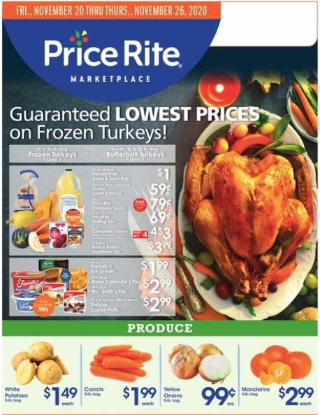 Price Rite Weekly Ad from November 20