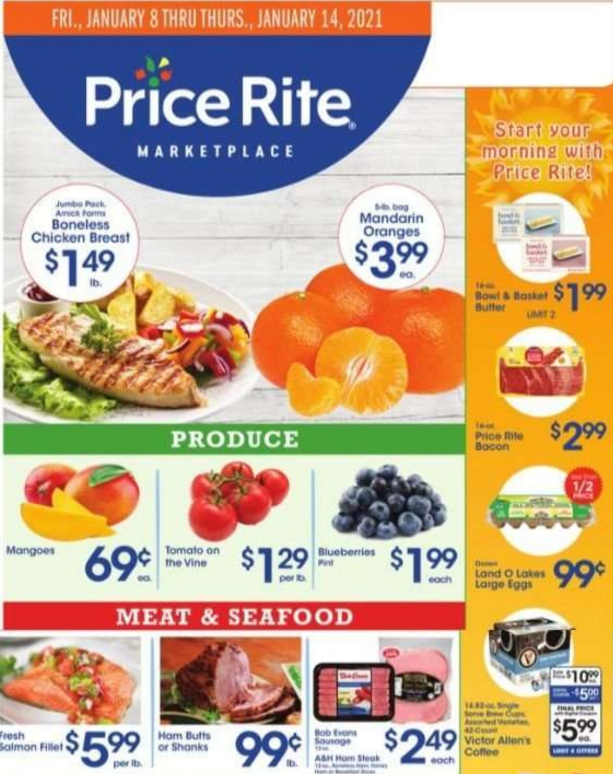 Price Rite Weekly Ad from January 8
