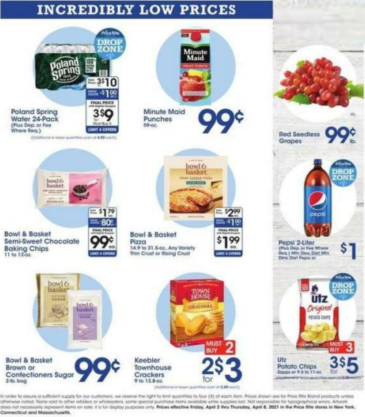 Price Rite Weekly Ad from April 2