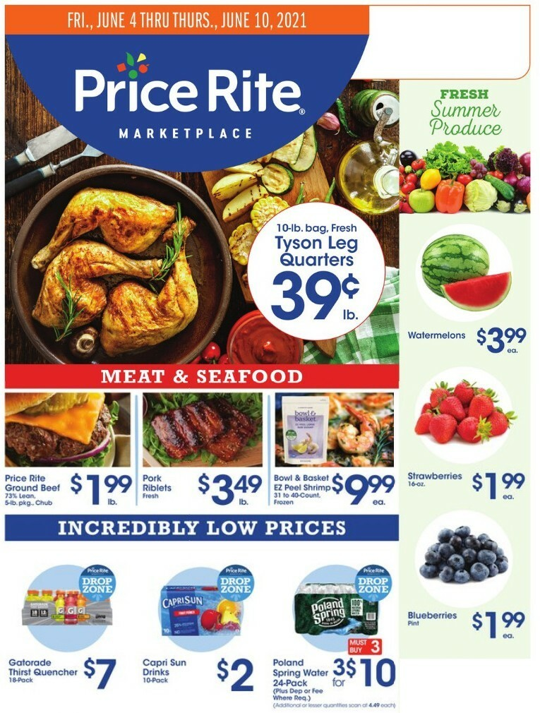 Price Rite Weekly Ad from June 4