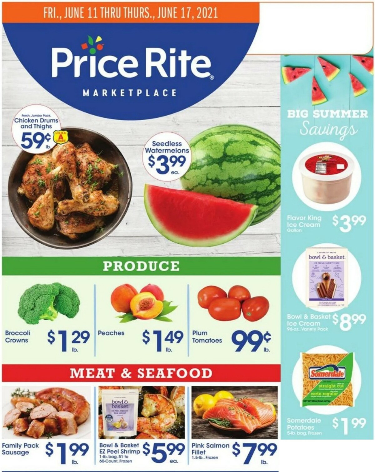 Price Rite Weekly Ad from June 11