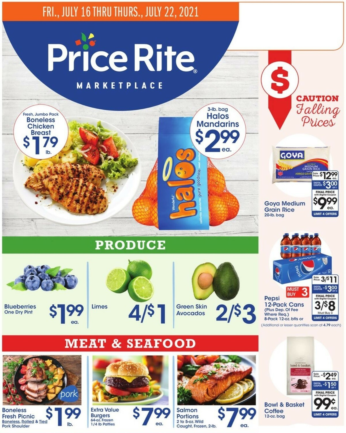 Price Rite Weekly Ad from July 16