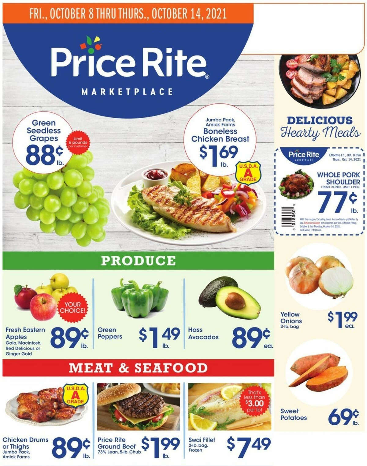 Price Rite Weekly Ad from October 8