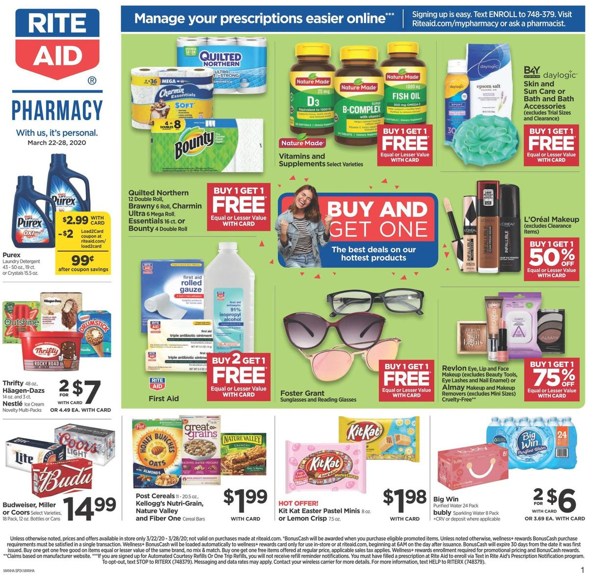 Rite Aid Weekly Ad from March 22