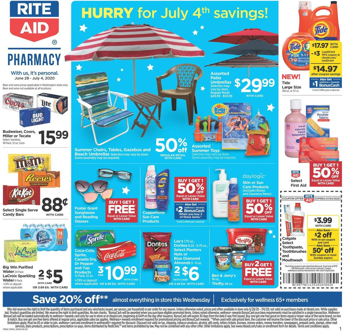 Rite Aid Weekly Ad from June 28