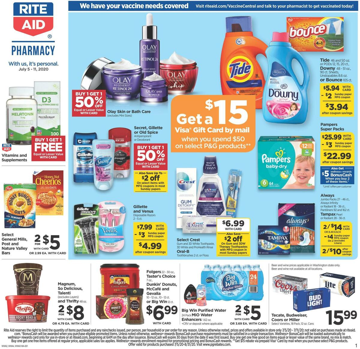 Rite Aid Weekly Ad from July 5