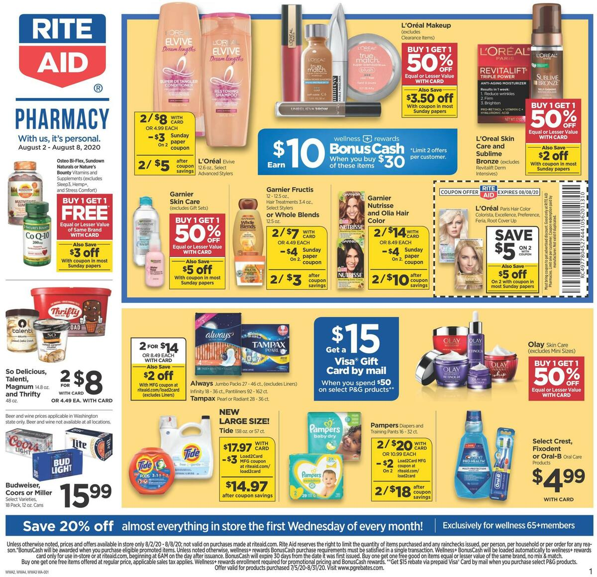 Rite Aid Weekly Ad from August 2