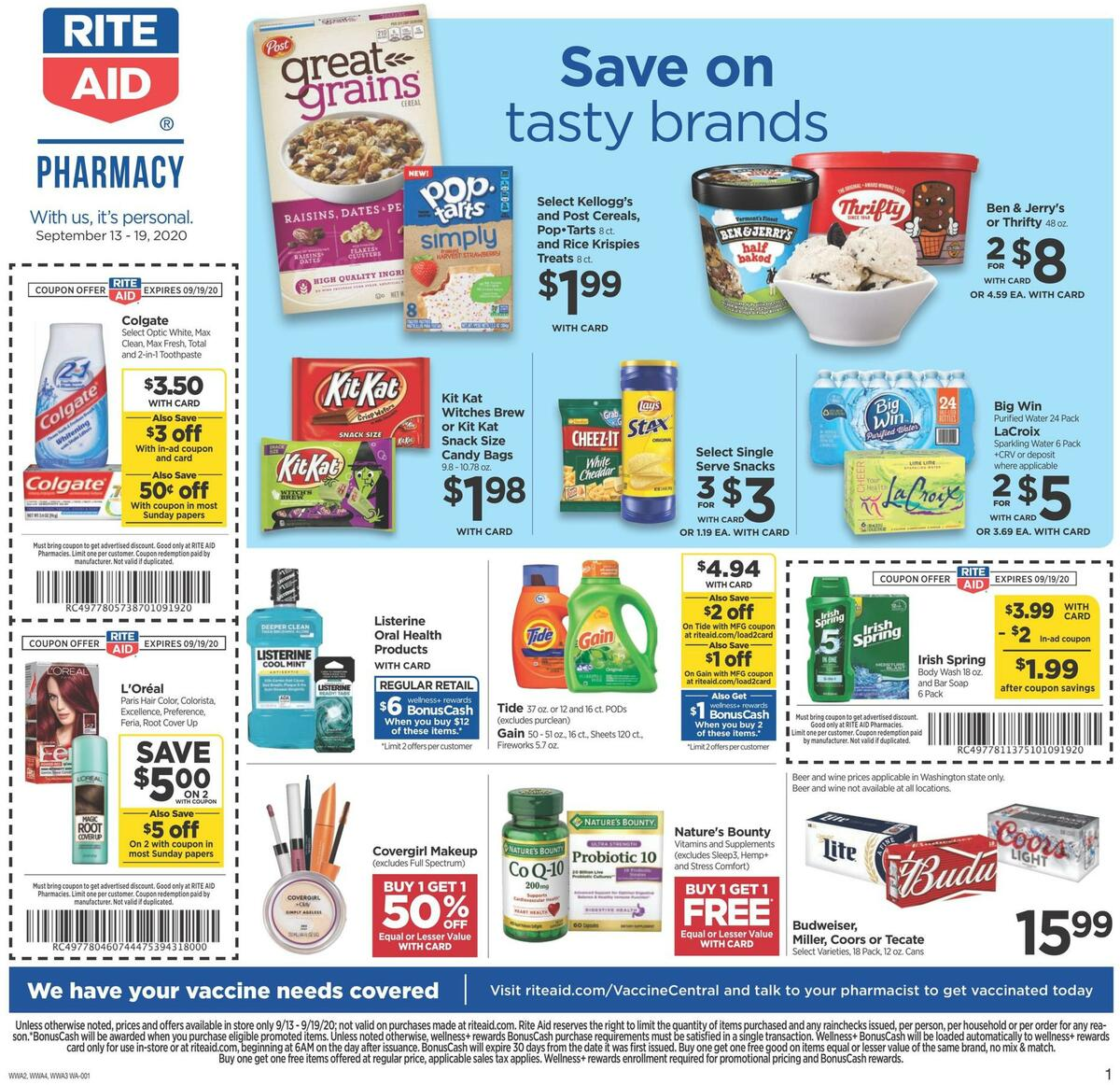 Rite Aid Weekly Ad from September 13