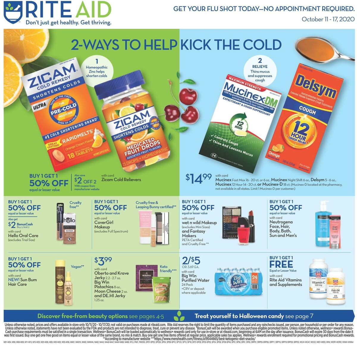 Rite Aid Weekly Ad from October 11