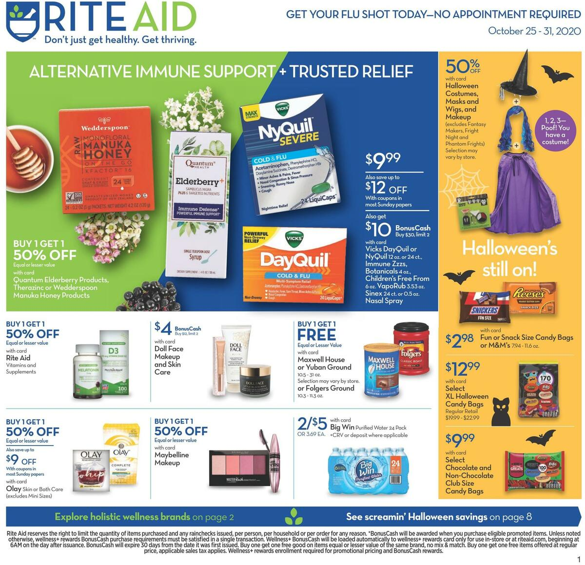 Rite Aid Weekly Ad from October 25