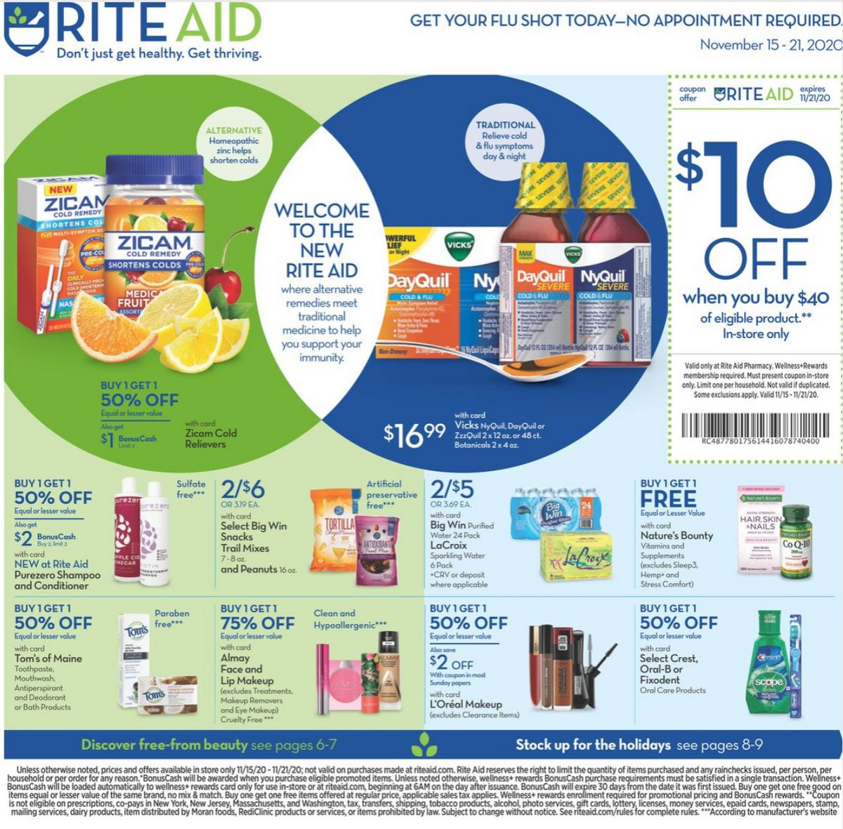 Rite Aid Weekly Ad from November 15