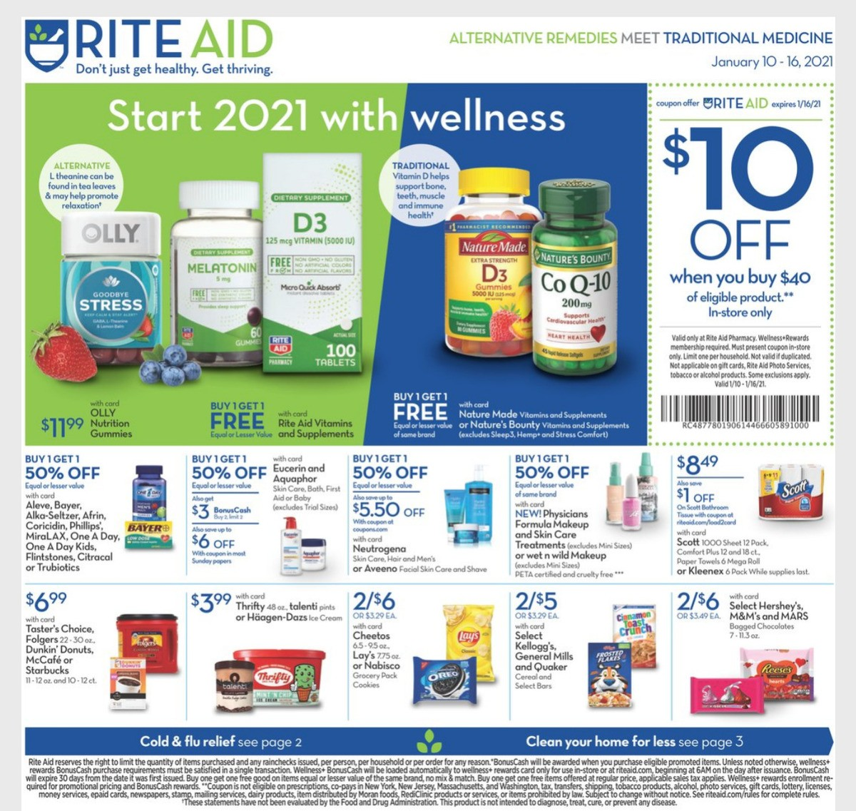 Rite Aid Weekly Ad from January 10