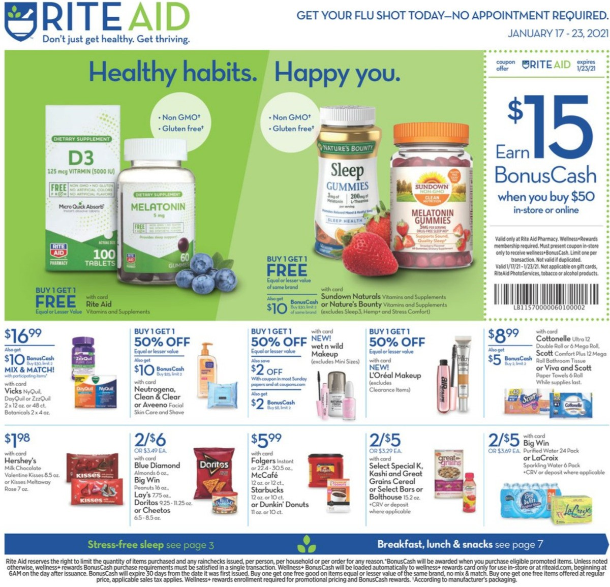 Rite Aid Weekly Ad from January 17