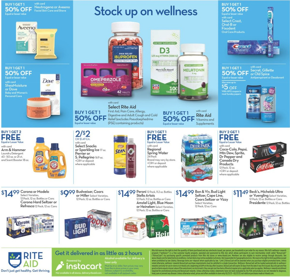 Rite Aid Weekly Ad from February 21